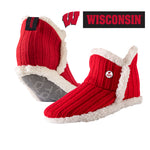 University of Wisconsin Alpenglow Cozy Slipper Socks