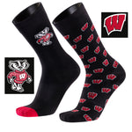 University of Wisconsin A Monday<br />And A Tuesday 2-Pack Dress Socks