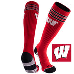 University of Wisconsin Old School Over the Calf Performance Athletic Socks