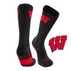 University of Wisconsin Far Trek Full Cushion Pure Merino Wool Crew Socks