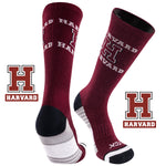 Harvard University Team Screamer Performance Athletic Crew Socks
