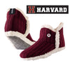 Harvard University Alpenglow Cozy Slipper Socks