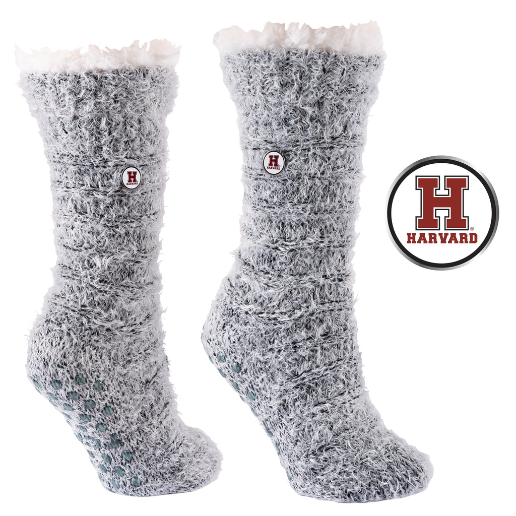 Harvard University Snow Christie Sherpa-Lined Cozy Slipper Socks