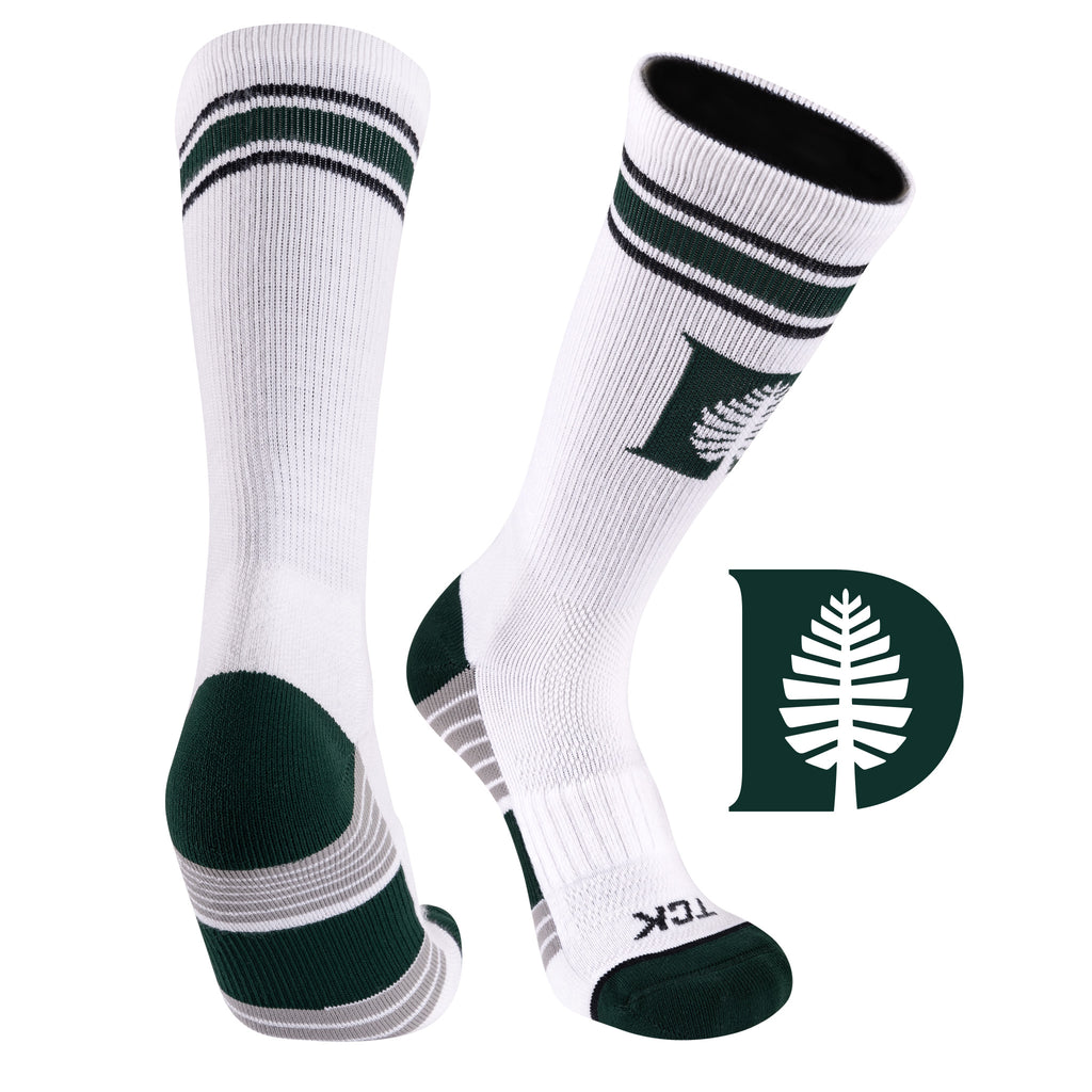 Dartmouth College Greekster Performance Athletic Crew Socks