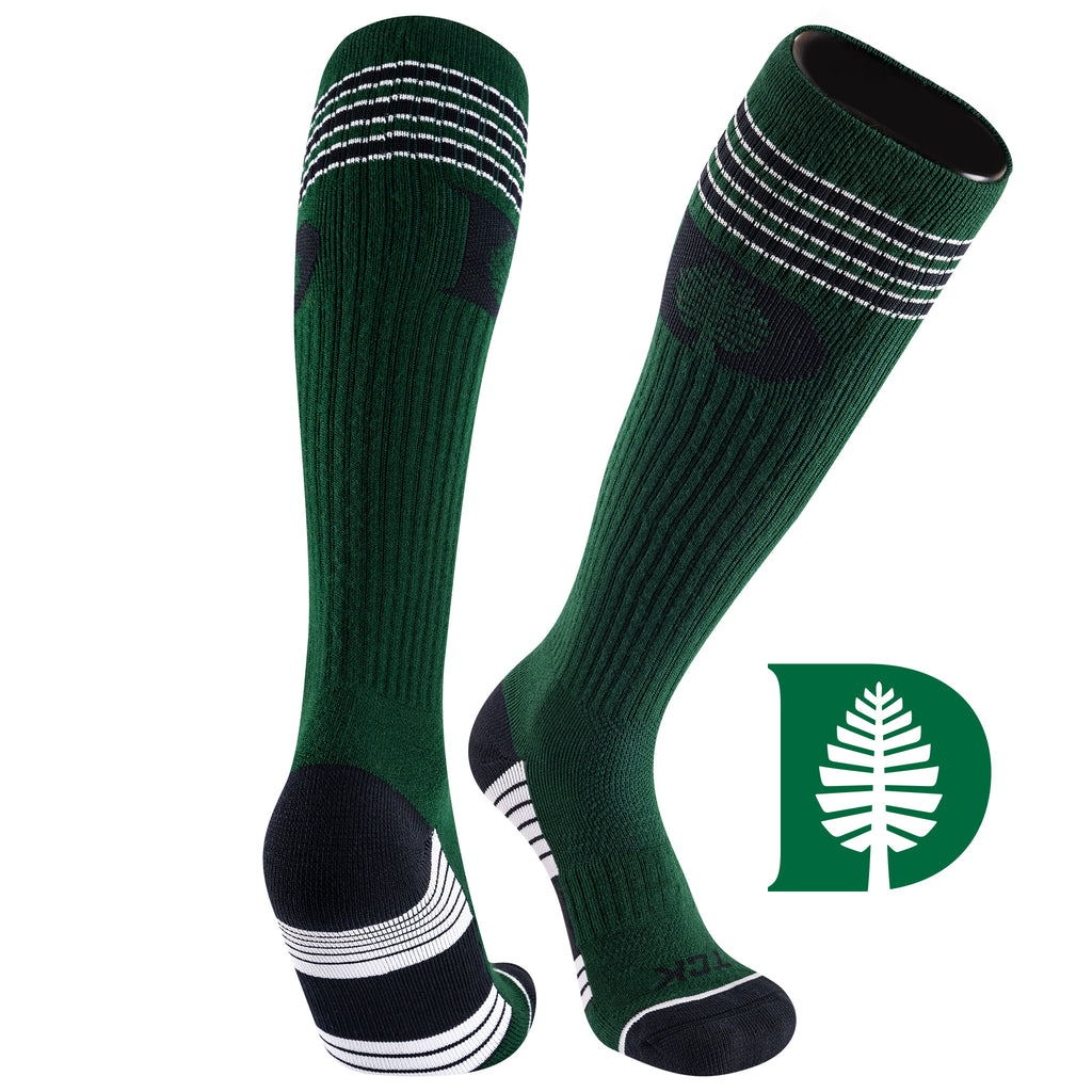 Dartmouth College Old School Over the Calf Performance Athletic Socks