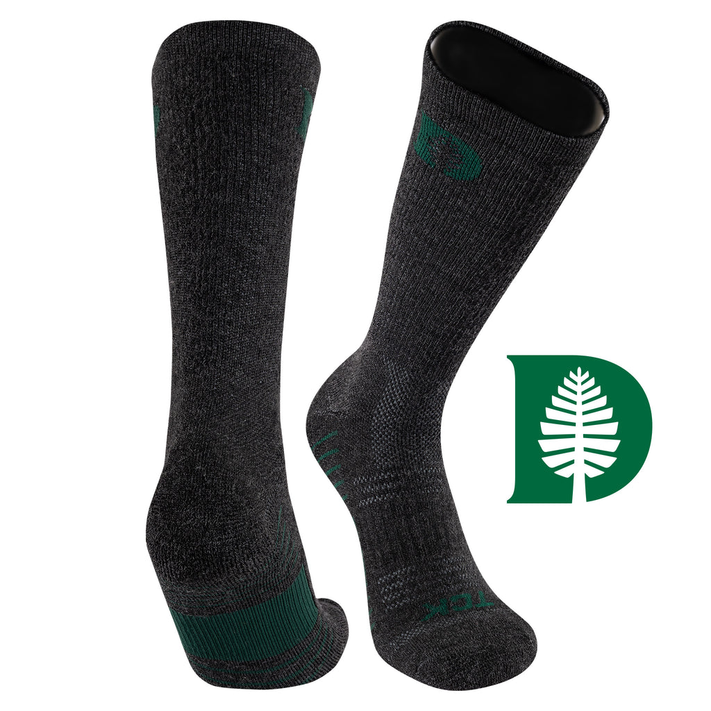 Dartmouth College Far Trek Full Cushion Pure Merino Wool Crew Socks