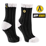 Appalachian State University Warm Fuzzy Cozy Crew Socks