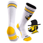 Appalachian State University Greekster Performance Athletic Crew Socks