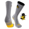 Appalachian State University Day Tripper Half Cushion Pure Merino Wool Crew Socks