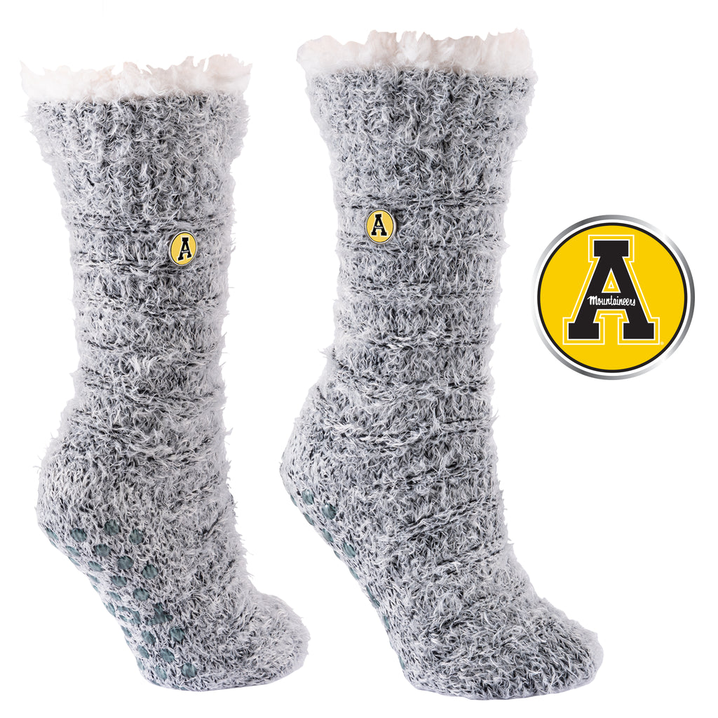 Appalachian State University Snow Christie Sherpa-Lined Cozy Slipper Socks