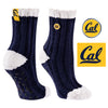 University of California Berkeley Warm Fuzzy Cozy Crew Socks