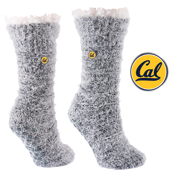 University of California Berkeley Snow Christie Sherpa-Lined Cozy Slipper Socks