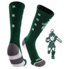 Michigan State University Team Screamer Performance Athletic Crew Socks