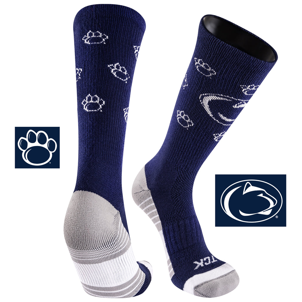 Penn State University Team Screamer Performance Athletic Crew Socks