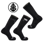 TCK Brands Stash & Dash Performance Crew Sock in Black