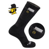 Appalachian State Stash & Dash Zip Pocket Performance Crew Socks - 2 Pair Pack