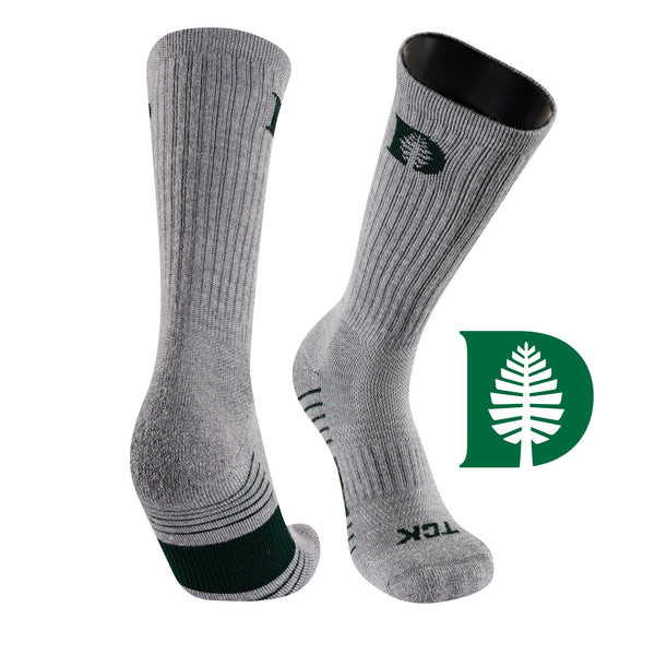 Dartmouth College Day Tripper Half Cushion Pure Merino Wool Crew Socks