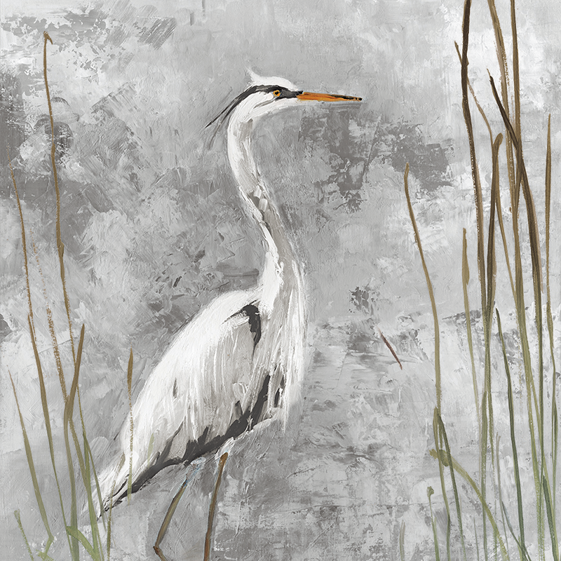 royal heron 01 ~ grey