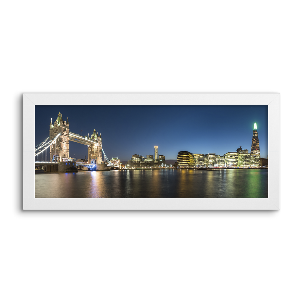 cityscape london ~ night skyline