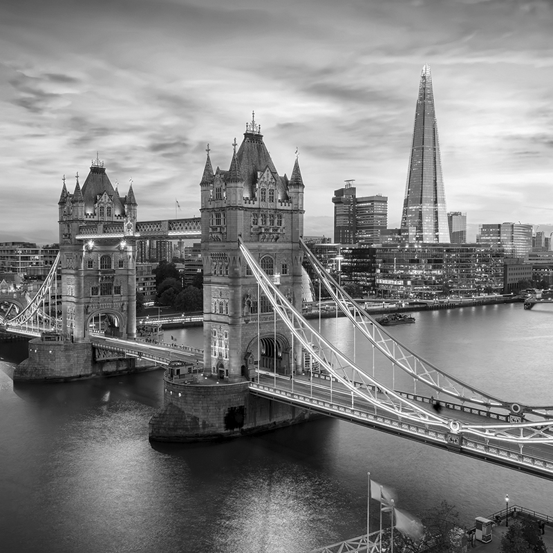 cityscape london ~ bridge & shard