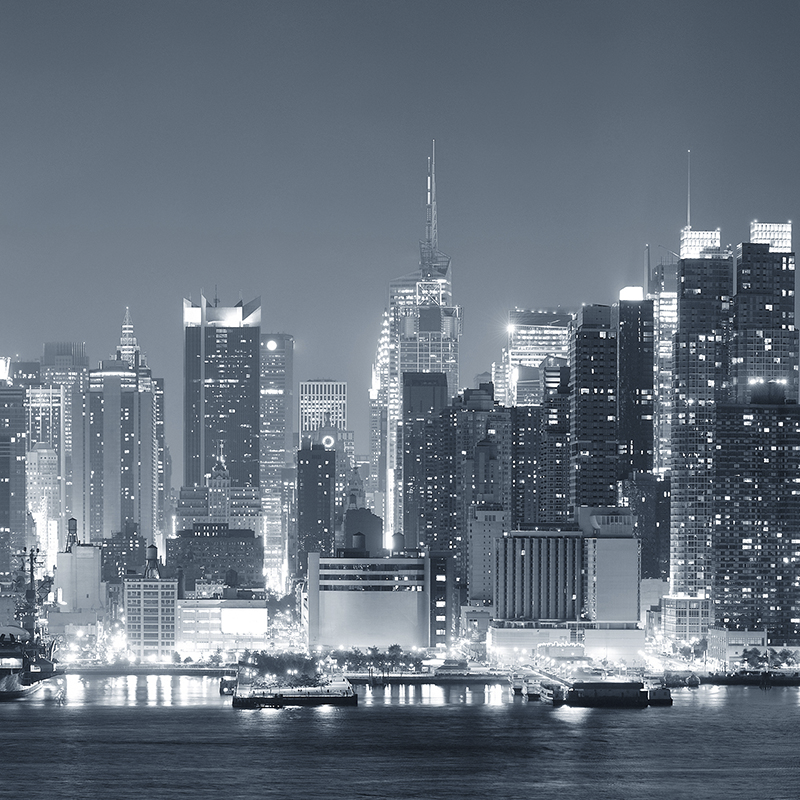 cityscape new york ~ night skyline