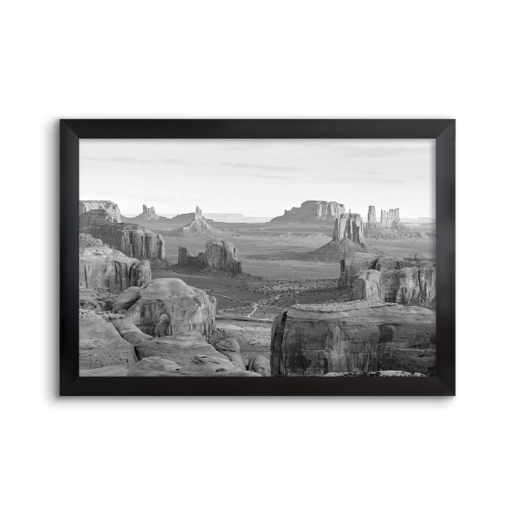 national parks ~ monument valley 01 ~ grey