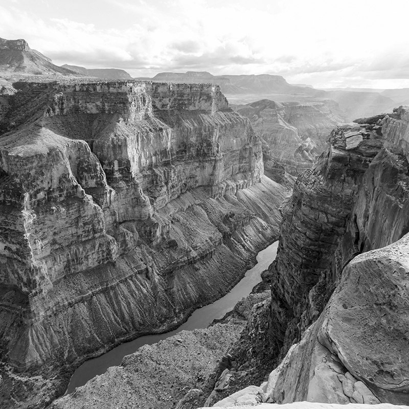 national parks ~ grand canyon 01 ~ grey