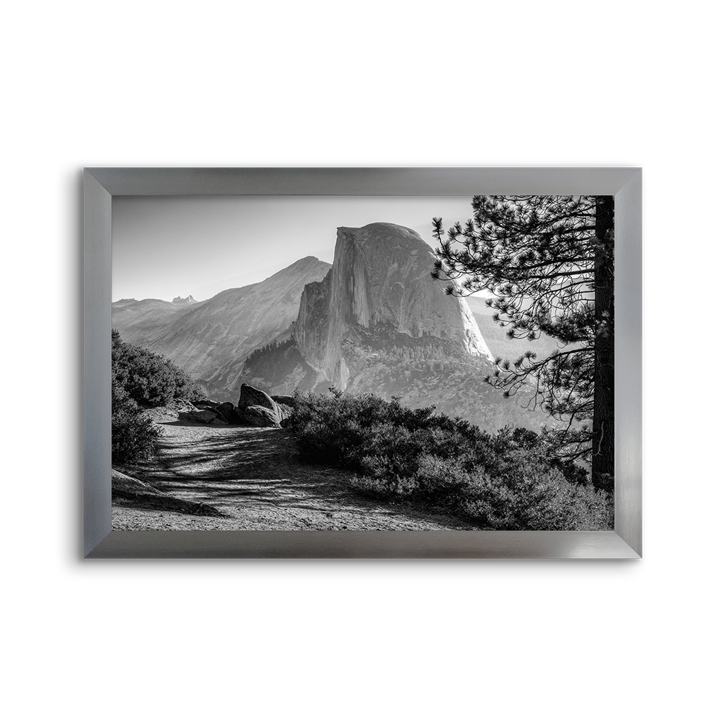 national parks ~ yosemite half dome ~ grey