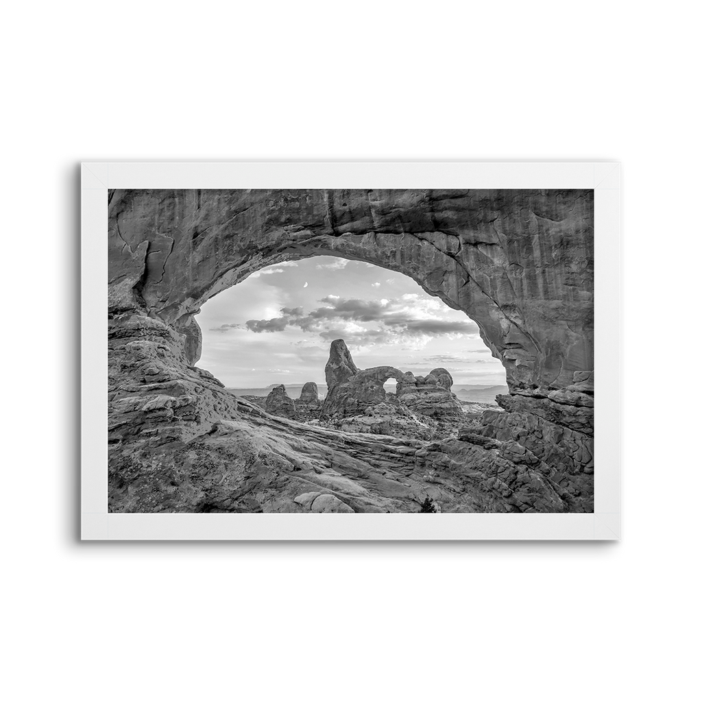 national parks ~  arches 01 ~ grey