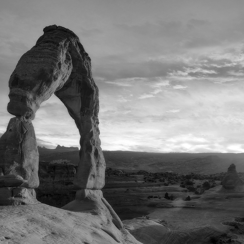 national parks ~ arches 02 ~ grey