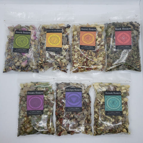 Complete Set of Chakra Incenses