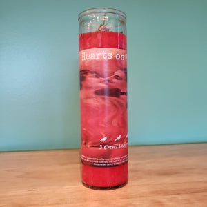 Hearts on Fire (Fire of Love) 7 Day Fixed Candle