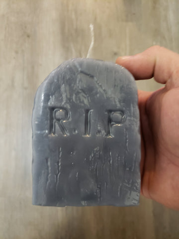 Tombstone Candle