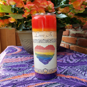 Love is... 7 Day Candle