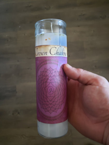 Crown Chakra 7 Day Fixed Candle