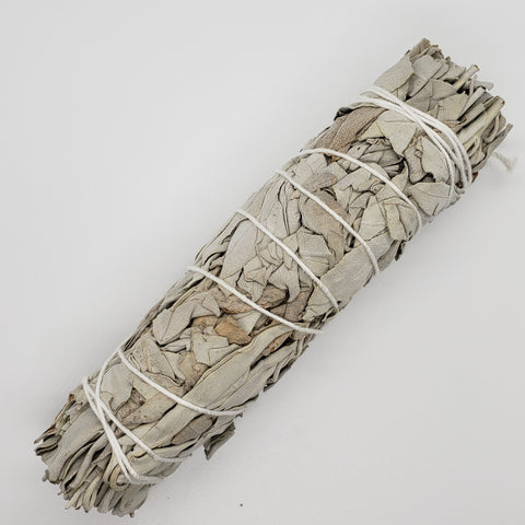 6 inch White Sage Smudge Sticks (Medium)