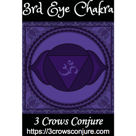 3rd Eye Chakra 7 Day Fixed Candle