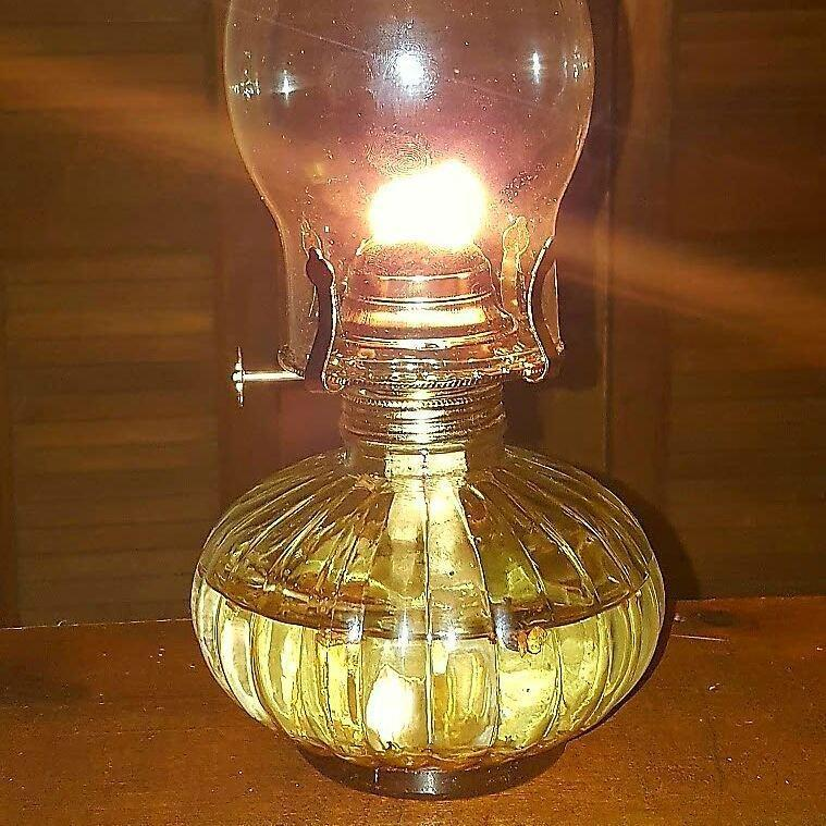 Hoodoo Protection Oil Lamp Working