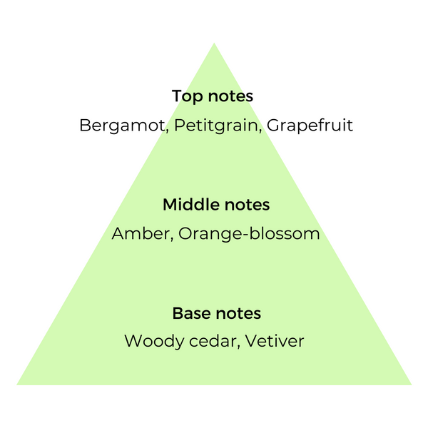 Top, middle & base notes list of ingredients used in Bergamot copycat fragrances by Match Perfumes