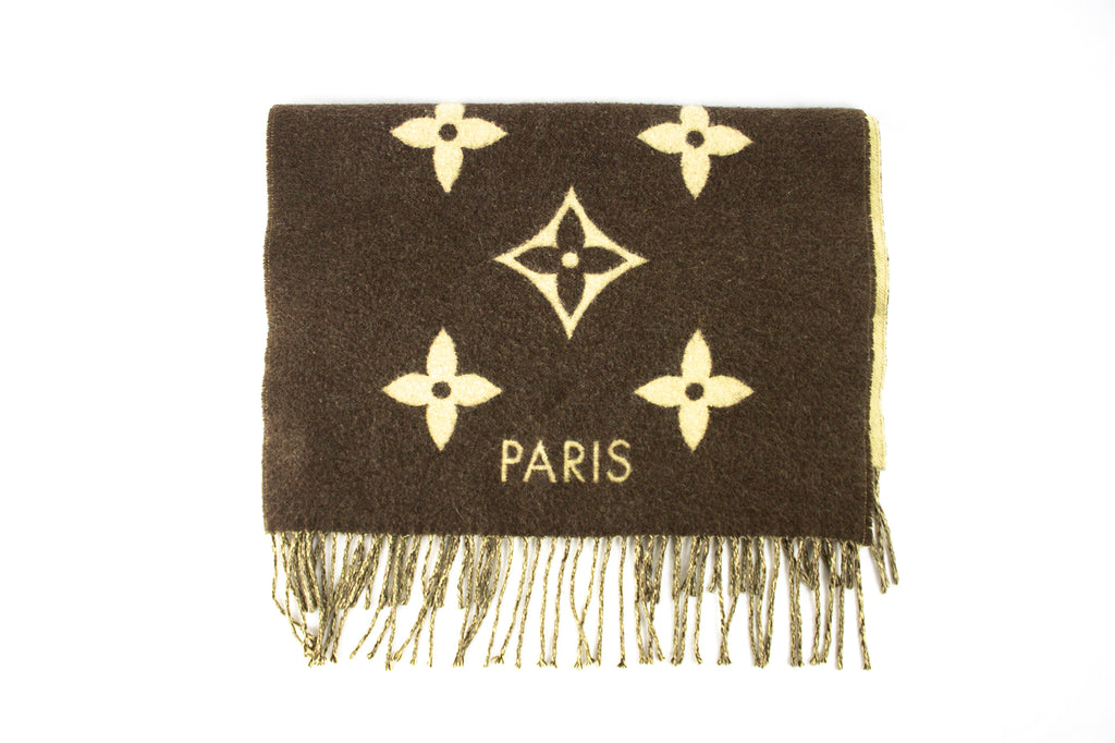 Louis Vuitton Monogram Cashmere Scarf