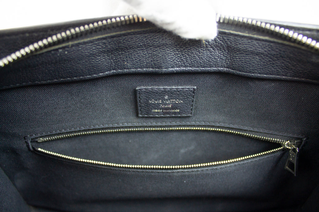 Louis Vuitton Black Epi Leather Handbag