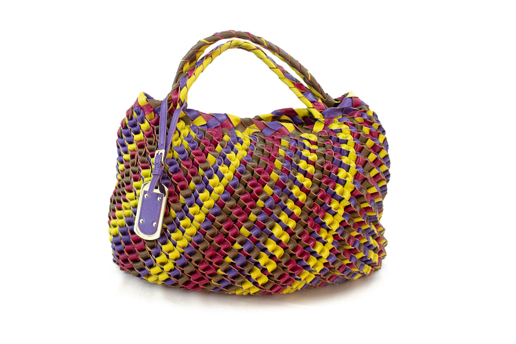 Etro Woven Leather Bag