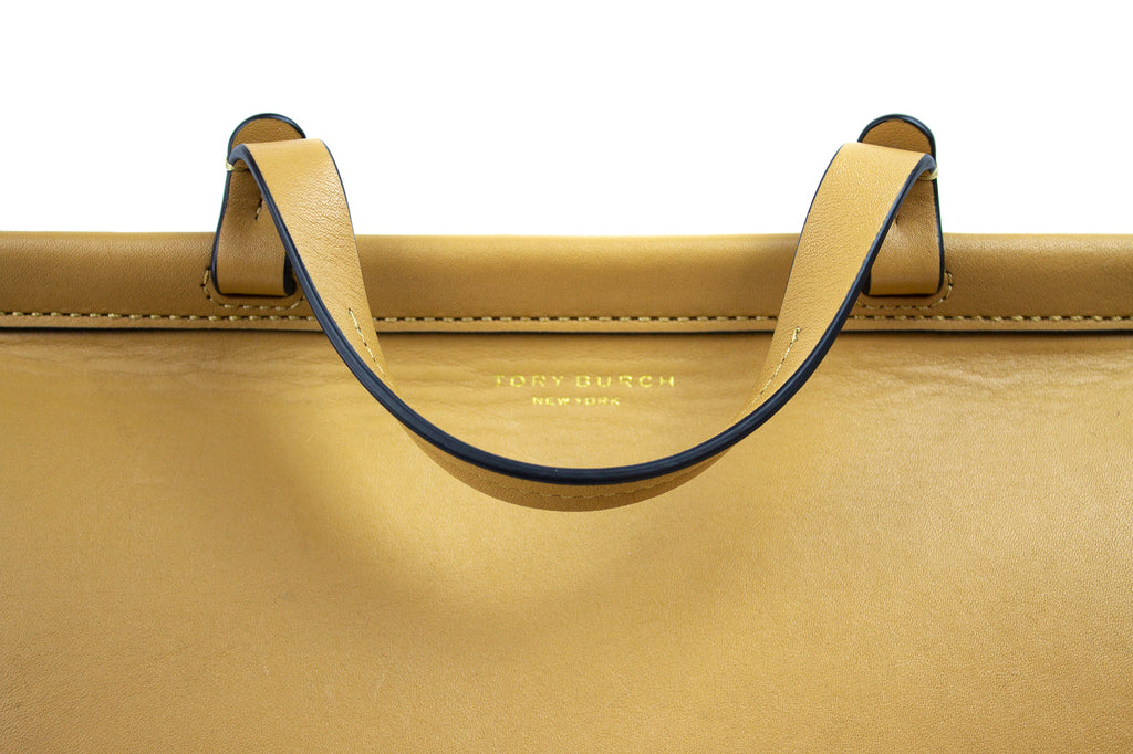 Tory Burch Tan Leather Handbag