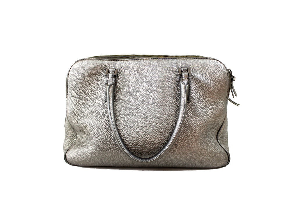 Tory Burch Silver Leather Handbag