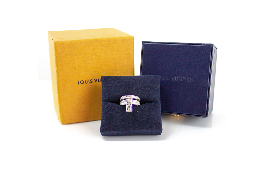 Luis Vuitton Keylock Ring