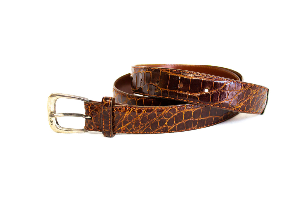 Ralph Lauren Genuine Alligator Belt | Size 36