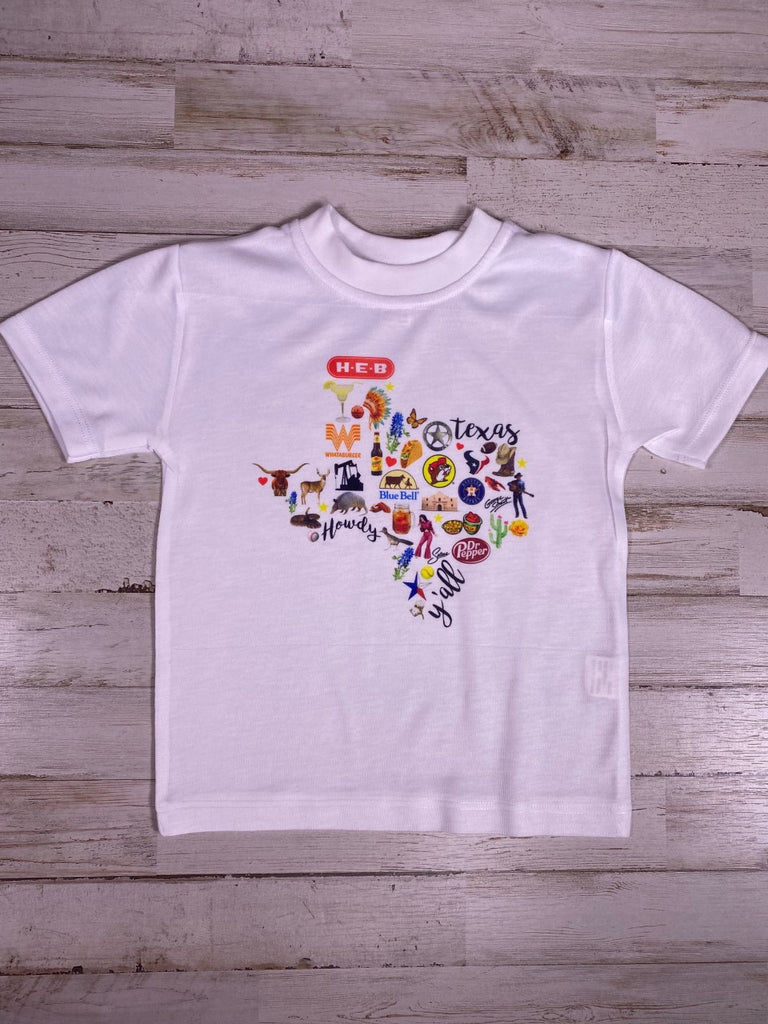 Brands of TEXAS Graphic T-Shirt
