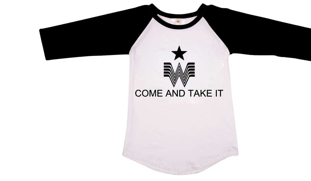 Come and Take It T-shirt - Sassy Little Sunflower