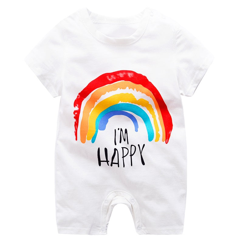 Im Happy Rainbow shortall - Sassy Little Sunflower