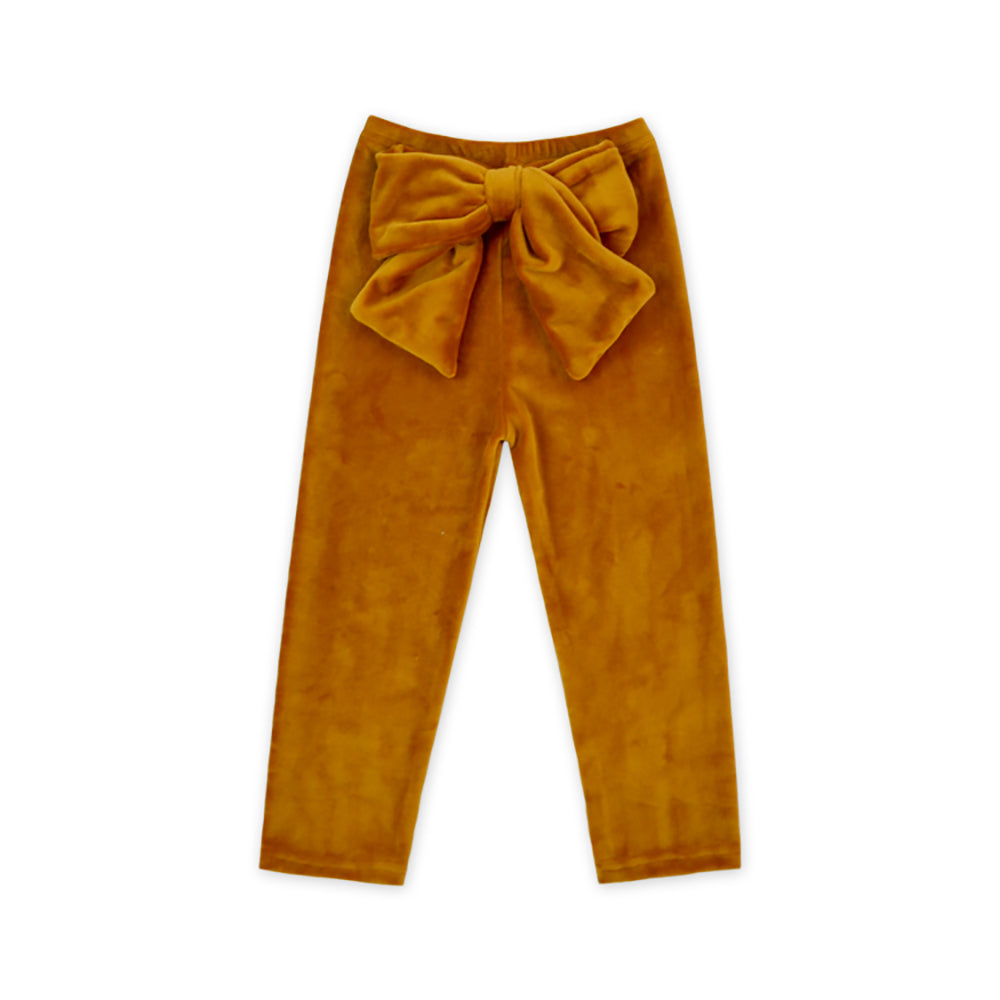 Pumpkin Spice Posh Velour Leggings - Sassy Little Sunflower